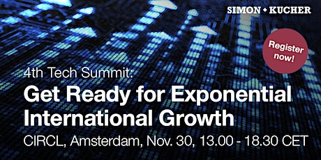 """4th Tech Summit: """"Get Ready for Exponential International Growth"""" tickets"""