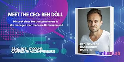 MEET THE CEO: Ben Döll – Bevelop, Gastronom und Barista Künstler