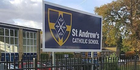 St Andrew's Catholic School Tour - Tuesday 16th November 2021 tickets