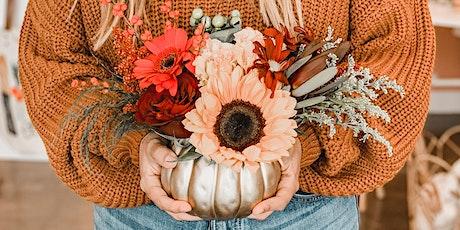 Holiday Pumpkin Centerpiece Workshop tickets
