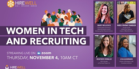 Women in Tech and Recruiting tickets