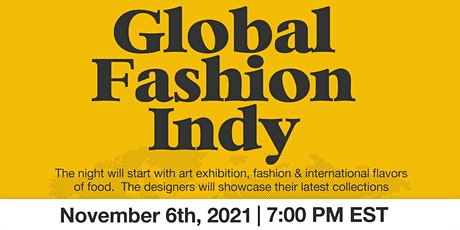 Global Fashion Indy tickets