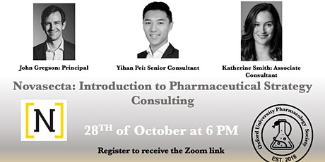 Novasecta: Introduction to Pharmaceutical Strategy Consulting tickets