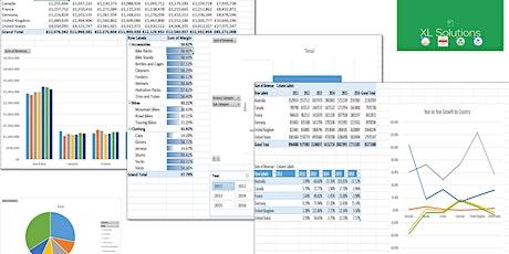 Data Analysis Fundamentals Using Excel (2 days) tickets