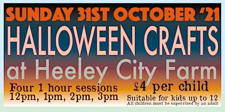 Halloween Crafts at Heeley City Farm tickets