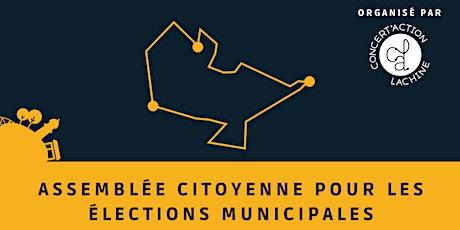 Assemblée citoyenne à Lachine - Places réservées pour Ensemble Montréal tickets