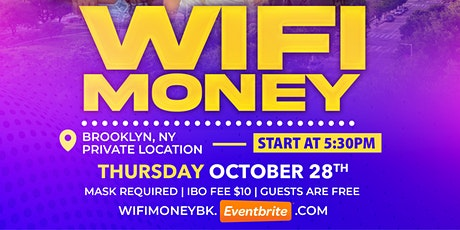 Learn How To Make WiFi Money Brooklyn Edition tickets