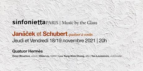 ⟪Music by the Glass⟫ avec le Quatuor Hermès | Jeudi, 18 novembre 2021 tickets