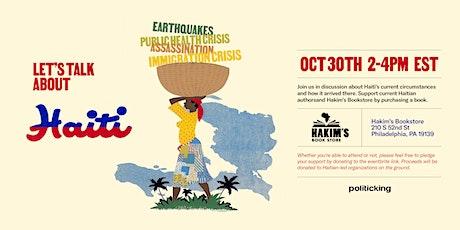 Haiti at Hakim's tickets
