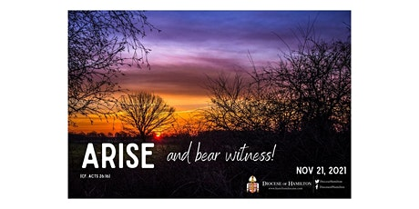 Arise and Bear Witness: A Young Adult Celebration of Diocesan WYD 2021 tickets