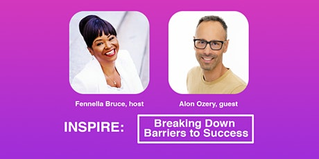 Inspire: Breaking Down Barriers to Success. tickets