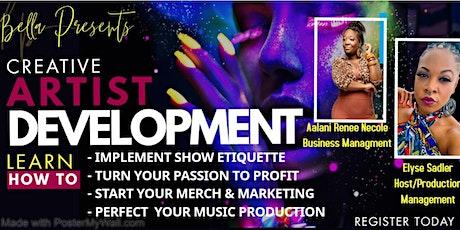 Artist Development 4-Week Course tickets