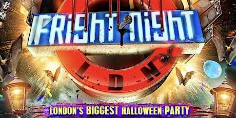 Fright Night LDN - London's Biggest Halloween Party tickets