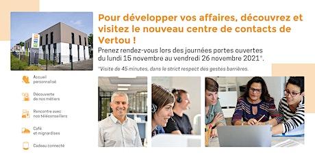 Journées portes ouvertes du centre de contacts de Vertou ! billets