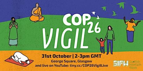 COP26 Vigil on George Square tickets