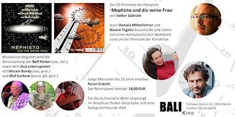 CD-Release-Feier mit Lesung und Musik Tickets