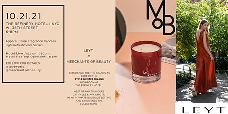 Showroom Pop-Up | The Refinery Hotel | Fine Fragrance Candles + Apparel tickets