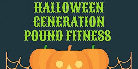 Halloween Generation Pound Fitness tickets