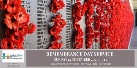 Remembrance Day Service @ The Anglican Church billets
