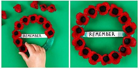 Veterans Day: Poppy Wreath Craft Hybrid tickets