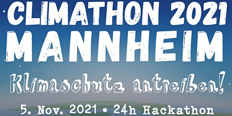 Climathon 2021 Mannheim Tickets