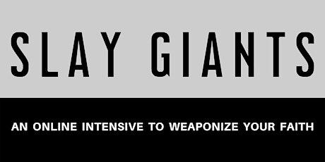 Slay Giants Intensive replay tickets
