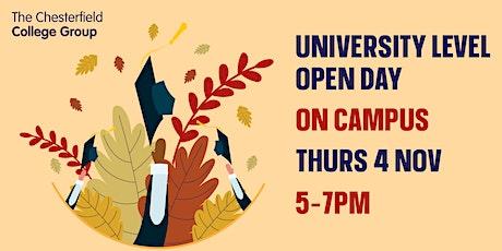 Higher Education Open Evening tickets