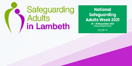 National Safeguarding Adults Week: Making Safeguarding Personal tickets
