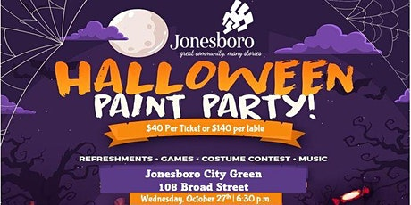 Halloween Sip & Paint Event tickets