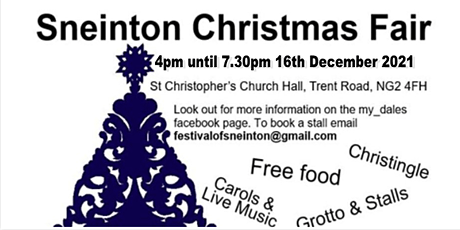 Sneinton Christmas Fair tickets