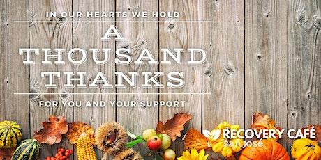 A Thousand Thanks: An Autumn Open House tickets