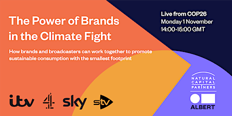 The Power of Brands in the Climate Fight tickets