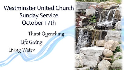 Westminster United Church Sunday Worship tickets