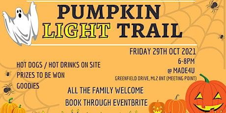 Pumpkin Light Trail tickets