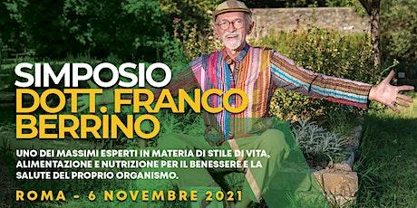 Simposio del Dott. Franco Berrino biglietti