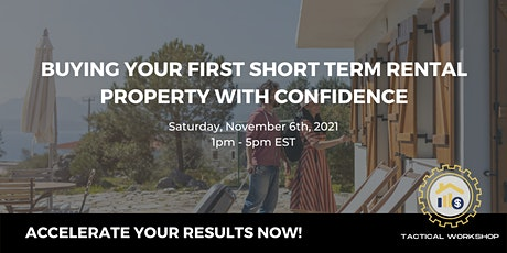 Buying A Short-Term Rental Property with Confidence tickets