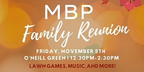 MBP Family Reunion tickets