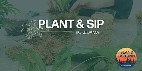 PLANT & SIP tickets
