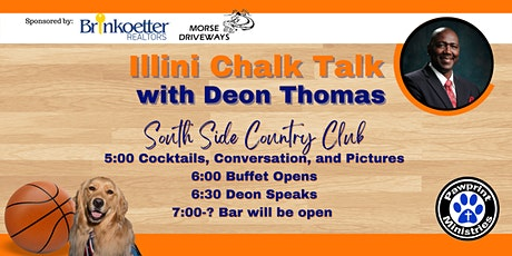 Chalk Talk with Deon Thomas Benefiting PawPrint Ministries tickets