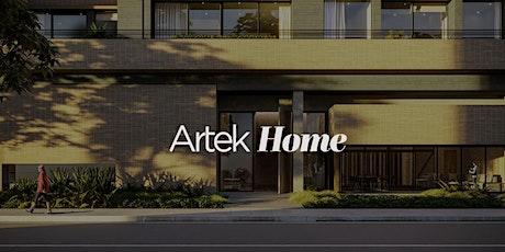 Cocktail de Lanzamiento proyecto ARTEK HOME. entradas