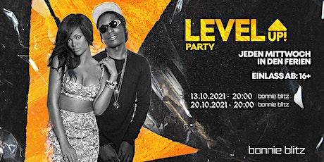 LevelUP! Party 20.10 ✘ Bonnie Blitz Club, Mönchengladbach Tickets