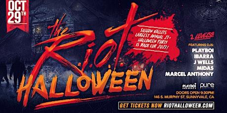 RIOT HALLOWEEN 2021 - FRIDAY OCT 29TH! PURE NIGHTCLUB | 1000+PPL! tickets