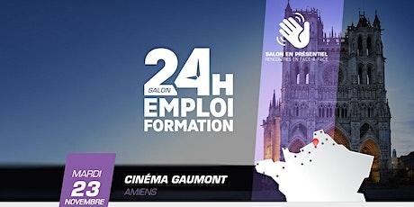 24 heures pour l'emploi et la formation – Amiens 2021 billets
