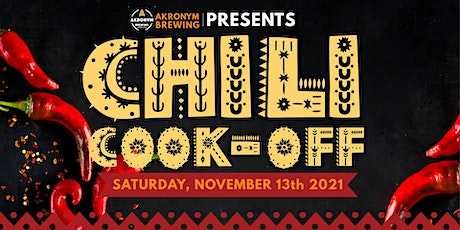 2nd Annual Chili Cook-Off tickets