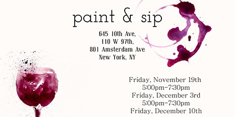 Ryan Health Paint and Sip Fundraiser Event tickets