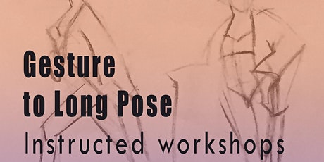 Drawing Workshops: From Gestures to Long Pose, Part 5 tickets