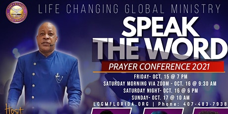 Speak The Word Prayer Conference tickets