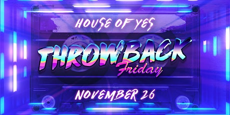 Throwback Friday tickets