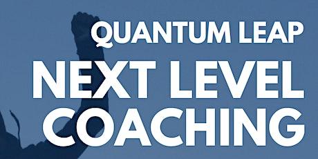 Quantum Leap - Next Level Coaching tickets