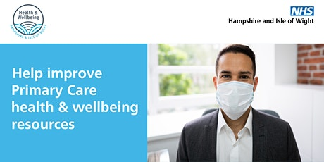 Primary Care: Health and Wellbeing Temperature Check Rapid Insight Workshop tickets